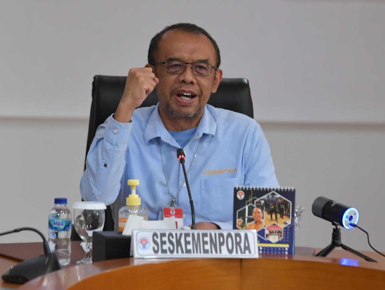 Sesmenpora Ingin Pemuda Indonesia Terus Berkreasi dan Kreatif di Tengah Pandemi