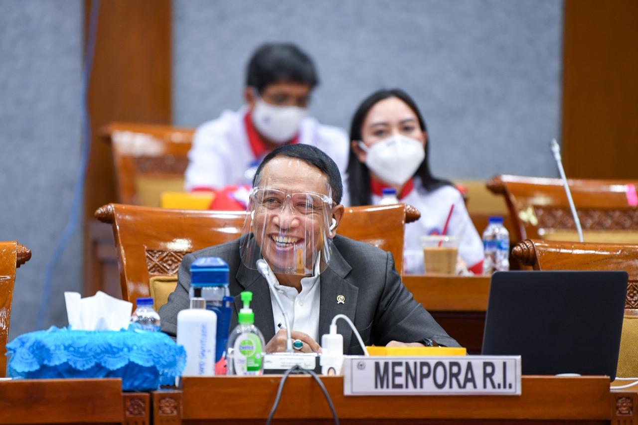 Komisi X DPR RI Apresiasi Realisasi Anggaran Kemenpora RI tahun 2019 Capai 88,64 %