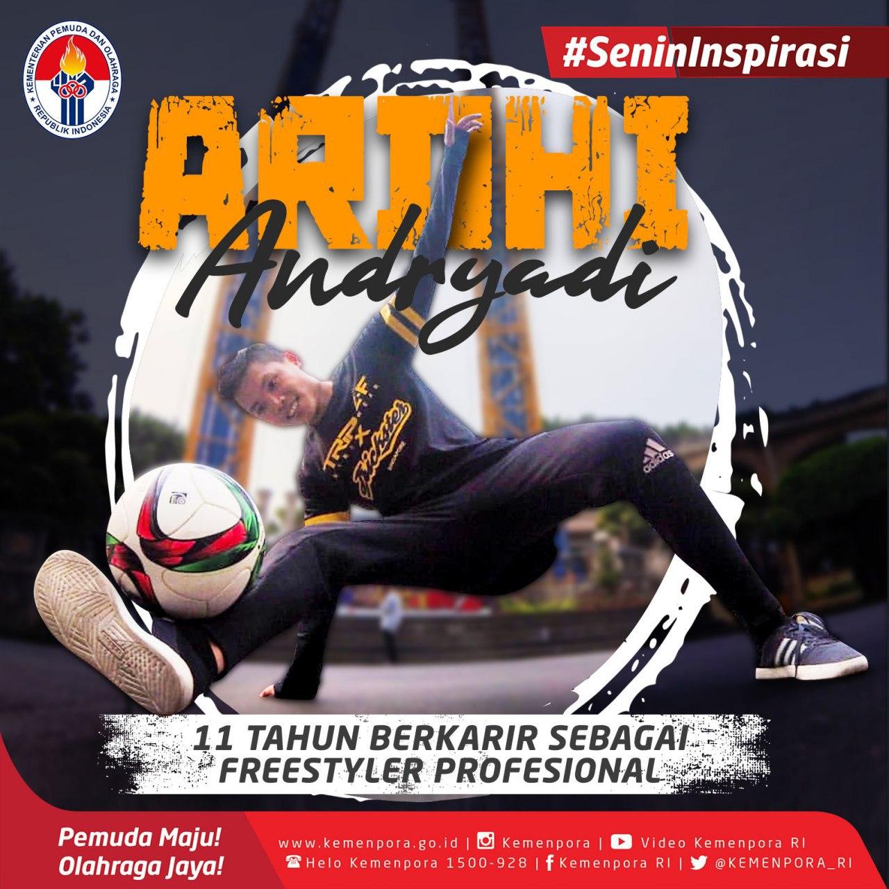 Menengok Ambisi dan Mimpi Freestyler Muda Indonesia Ardhi Andryadi Jadi Juara Dunia