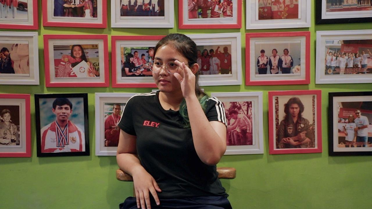 Bangganya Vidya Rafika, Baru Usia 18 Tahun Terpilih Jadi Penembak Muda Indonesia Lolos Olimpiade 2020