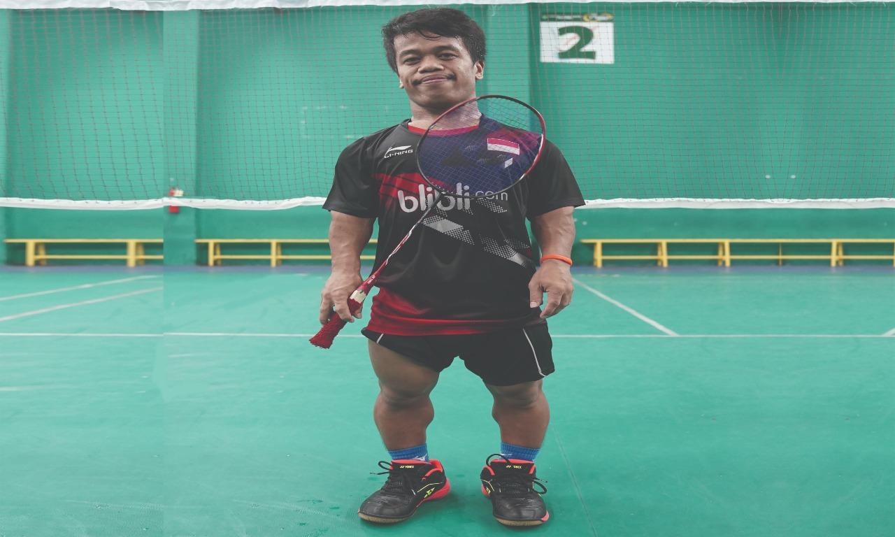 Dimas Triaji, Atlet Badminton Mini ASEAN Para Games 2020 yang Ingin Bertemu Idolanya Anthony Sinisuka Ginting
