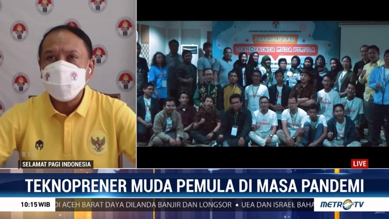 Menpora RI Terus Dukung Teknopreuner Muda Pemula Bisa Sukses di Masa Pandemi Covid-19