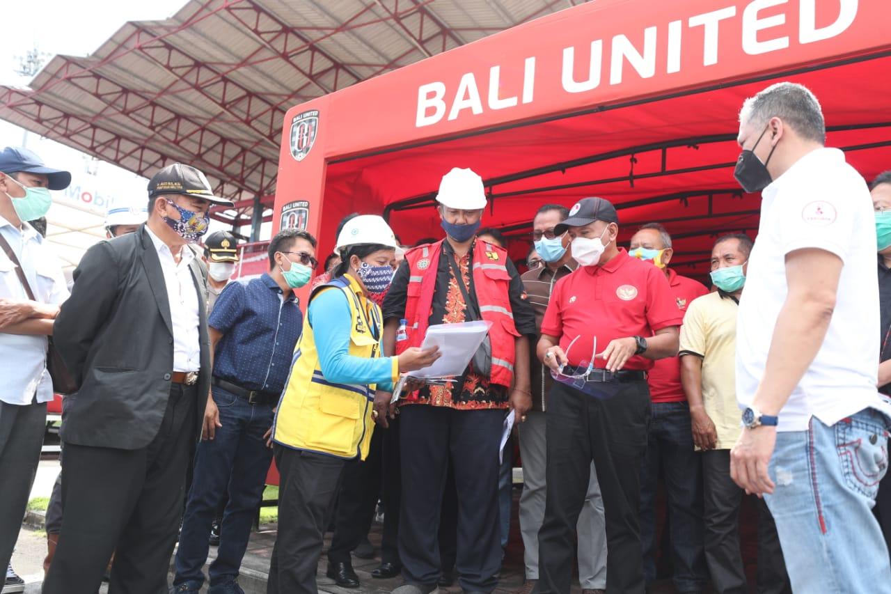 Komitmen Tingkatkan Prestasi Sepak Bola, Menpora RI Fasilitasi Pelatihan Pelatih Lisensi C AFC dan Tinjau Persiapan FIFA U-20 World Cup Indonesia 2021™ di Bali