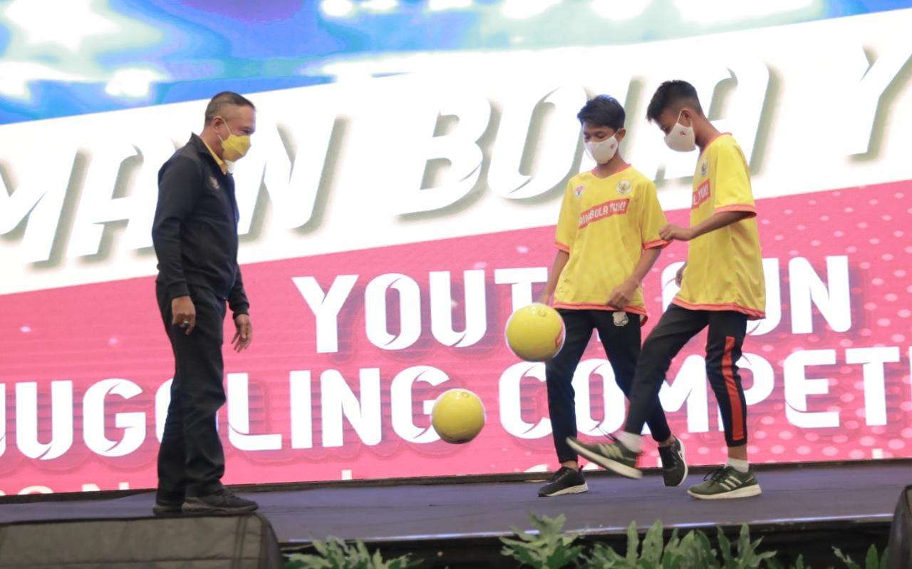 Jalankan Inpres No 3 Tahun 2019 tentang Percepatan Sepakbola Nasional, Menpora RI Luncurkan Program
