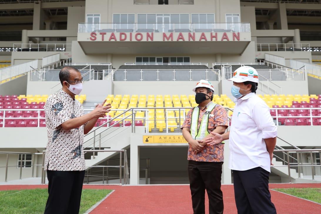 Kemenpora RI Optimis dengan Progres Renovasi Stadion Manahan dan Stadion Sriwedari Solo