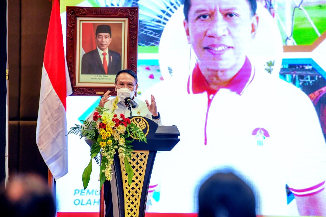 Menpora RI: Sinergi Stakeholder Olahraga Indonesia Akan Jadi Kekuatan Grand Desain Keolahragaan Nasional