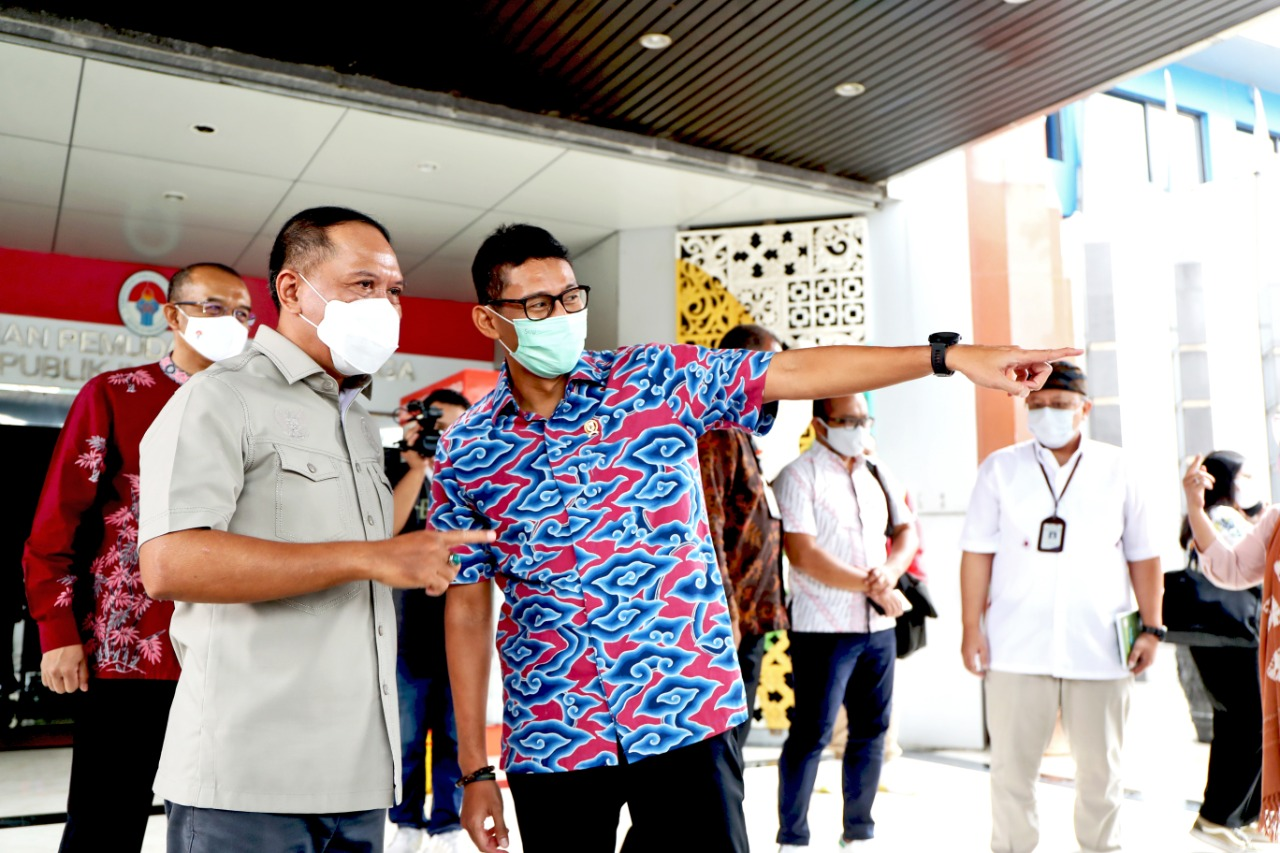 Menpora RI Bersinergi dengan Menparekraf Kembangkan Sport Tourism di Indonesia