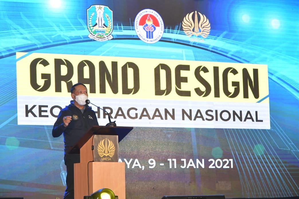 Wujudkan Ekosistem Olahraga, Menpora RI: Indonesia Segera Miliki Grand Design Keolahragaan Nasional