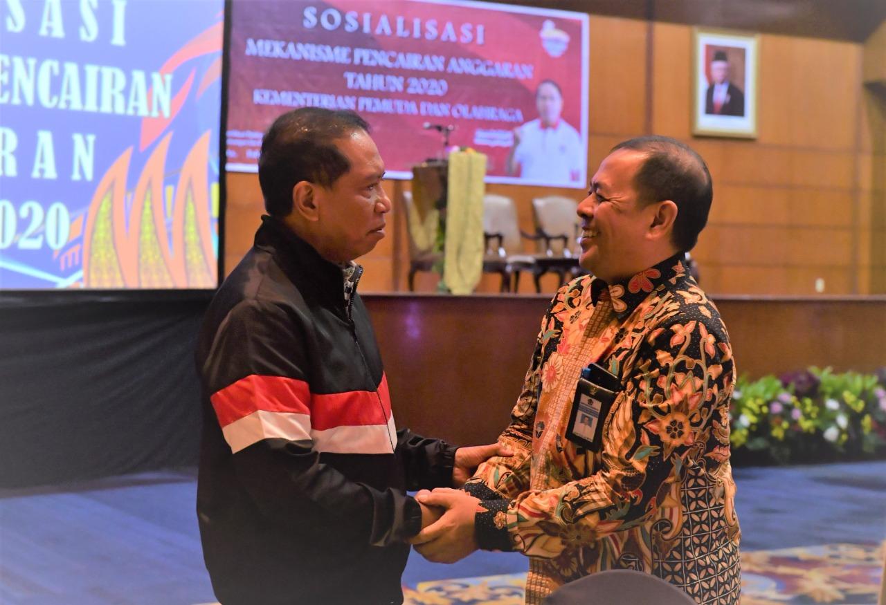 Hari Perbendaharaan ke-17, Kemenpora RI Apresiasi KPPN Jakarta III tetap Beri Layanan Profesional di Masa Pandemi Covid-19