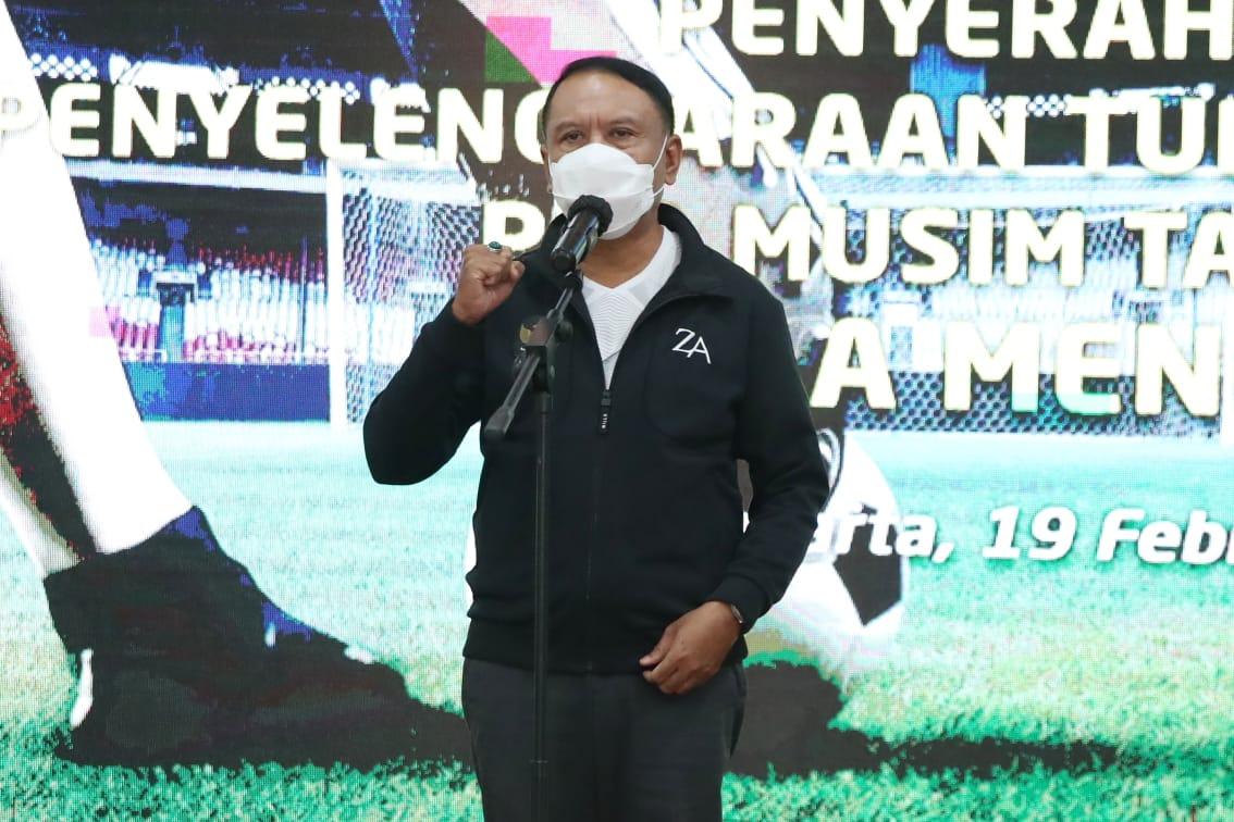 Setelah Sepak Bola, Menpora Amali Bakal Pimpin Rakor Bahas Izin Kompetisi IBL 2021