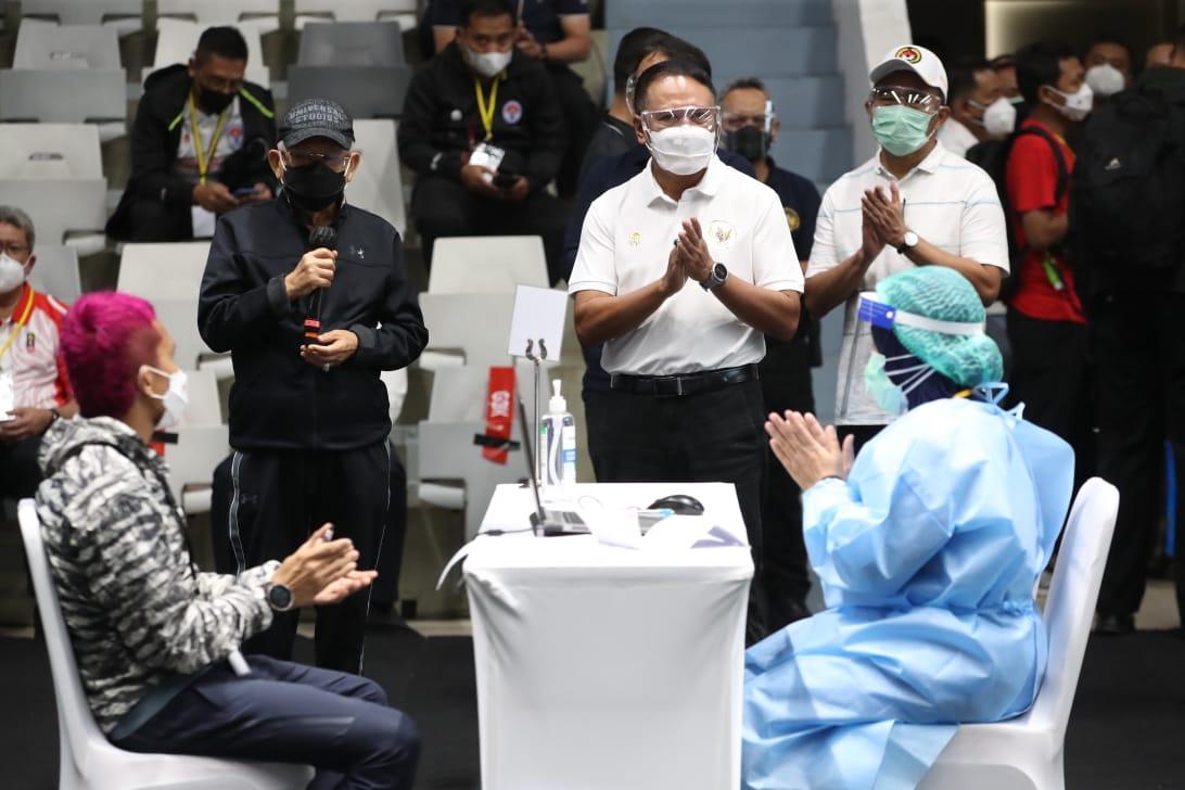 Wapres Ma'ruf Amin: Vaksinasi Atlet ini Penting untuk Prestasi Olahraga Indonesia