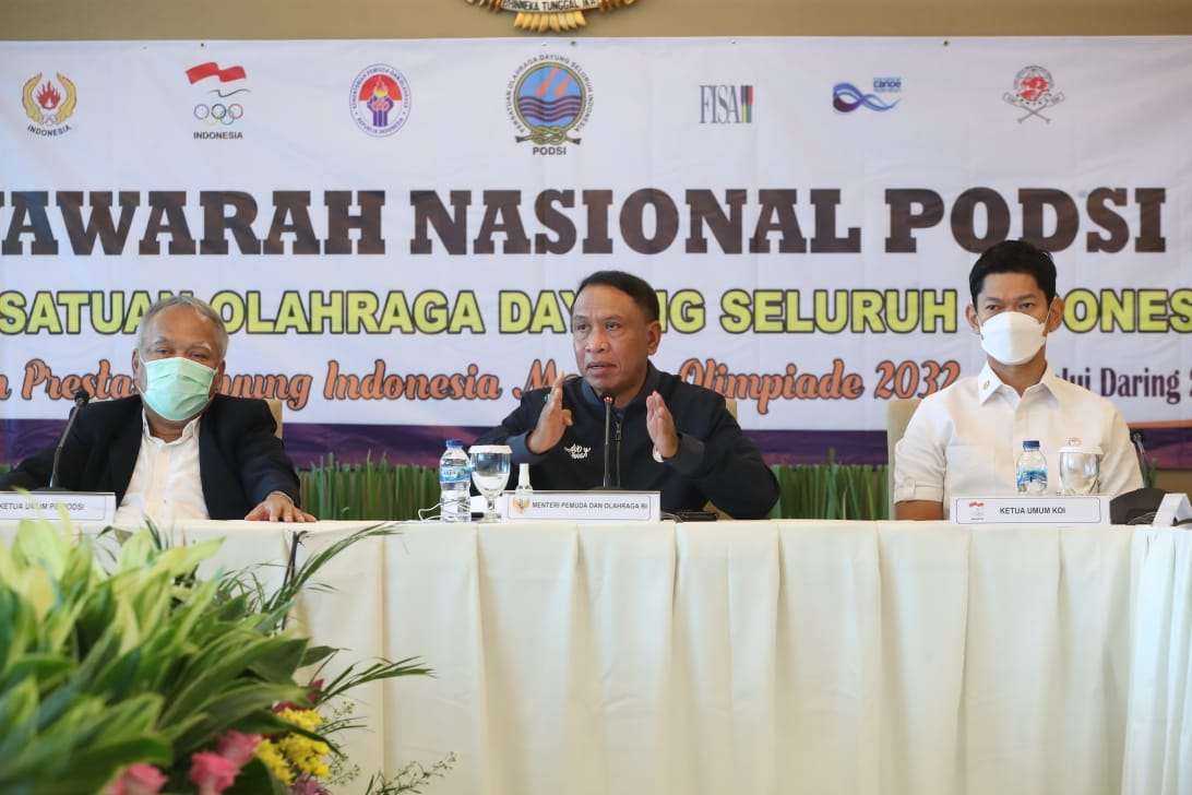 Buka Munas PB PODSI, Menpora Amali Harap Dayung Terus Berprestasi untuk Harumkan Nama Indonesia
