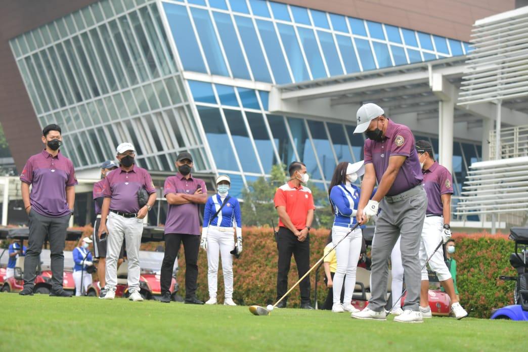 Menpora Amali Apresiasi Indonesian Corporate Golf Series Championship