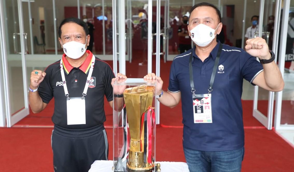 Masuki Perempatfinal, Menpora Amali Harap Kelancaran Pelaksanaan Piala Menpora 2021 Tetap Dijaga