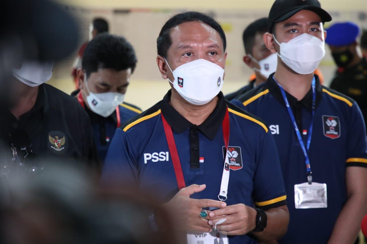 Babak 8 Besar Piala Menpora 2021 Dimulai, Menpora Amali Minta Protokol Kesehatan yang Sudah Baik Terus Dipertahankan