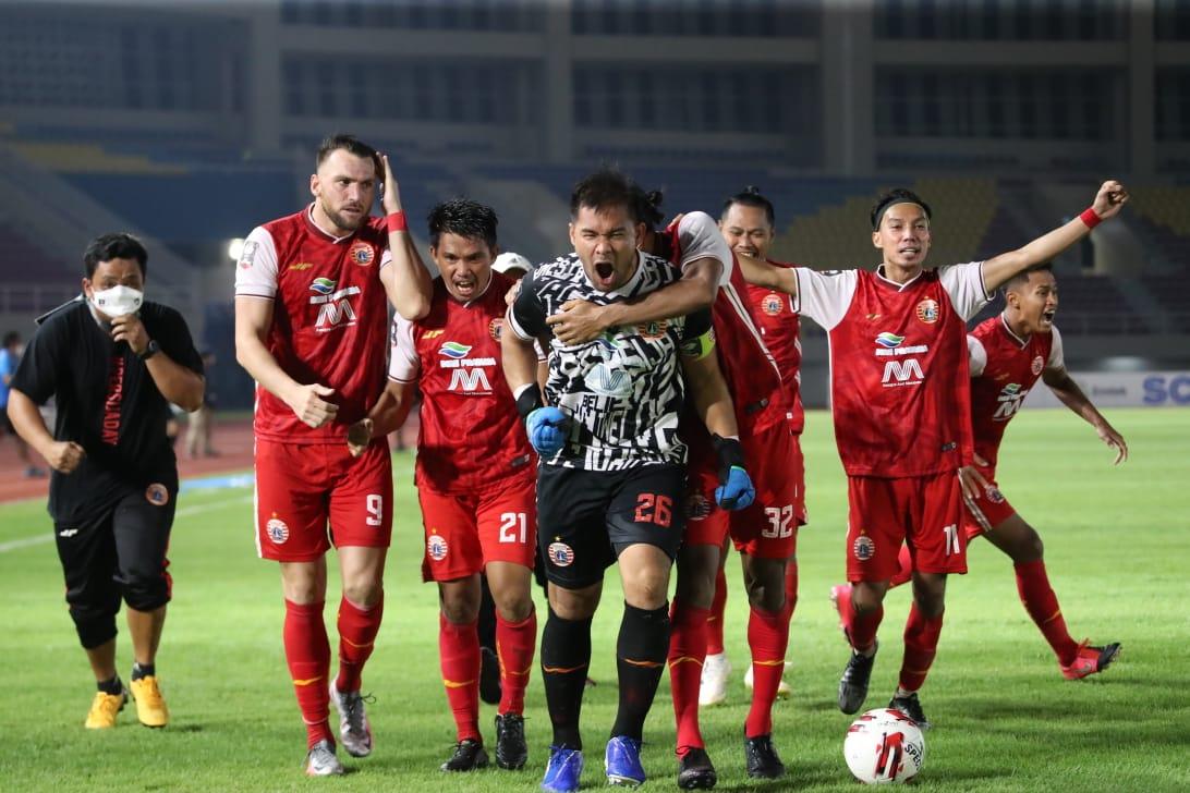 Pastikan Tiket Final Piala Menpora 2021, Andritany jadi Pahlawan Lolosnya Persija Jakarta