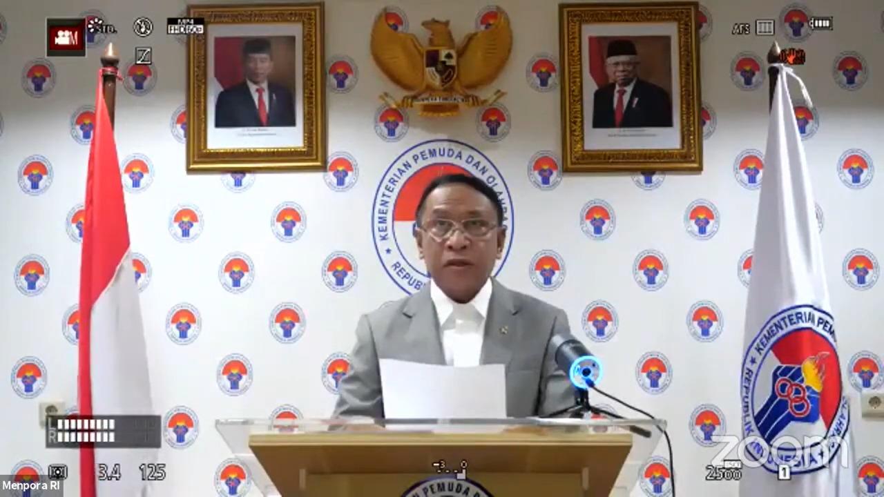 Menpora Amali Harap The 5th ISMINA Unnes Bisa Rumuskan Saran untuk Kemajuan Olahraga Indonesia