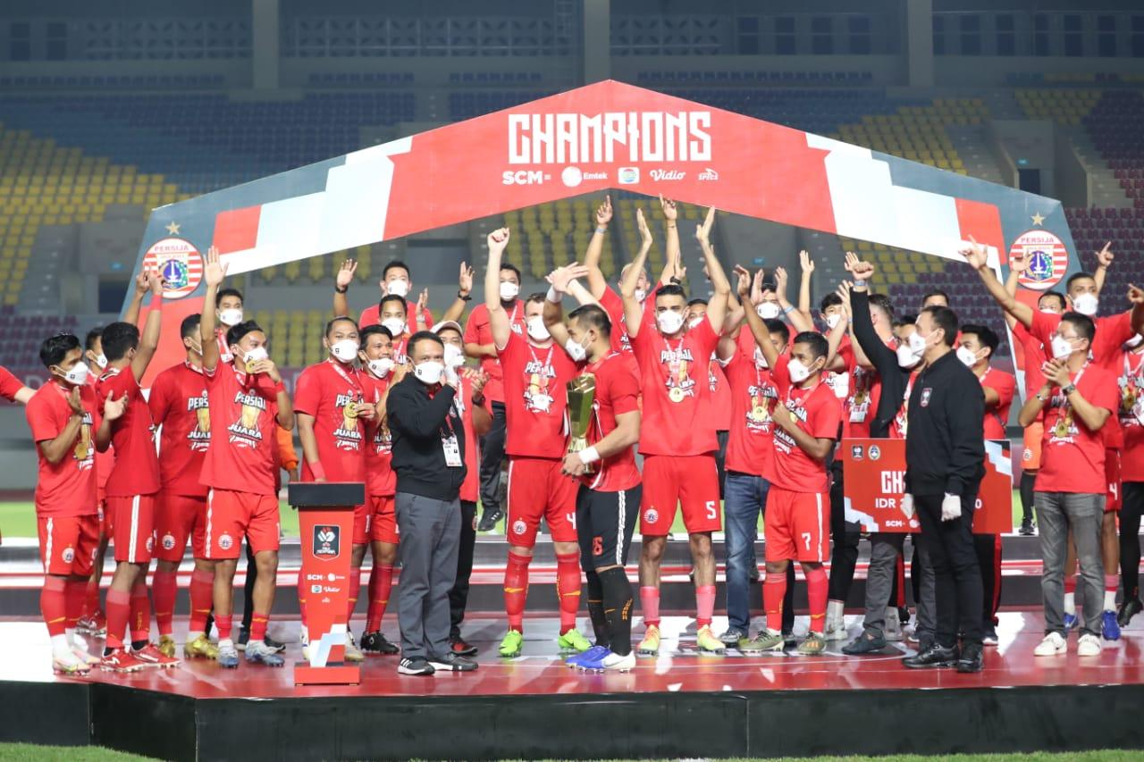Presiden Dapat Apresiasi dari Pencinta Sepakbola Tanah Air karena Kompetisi Bola Kembali Menggeliat