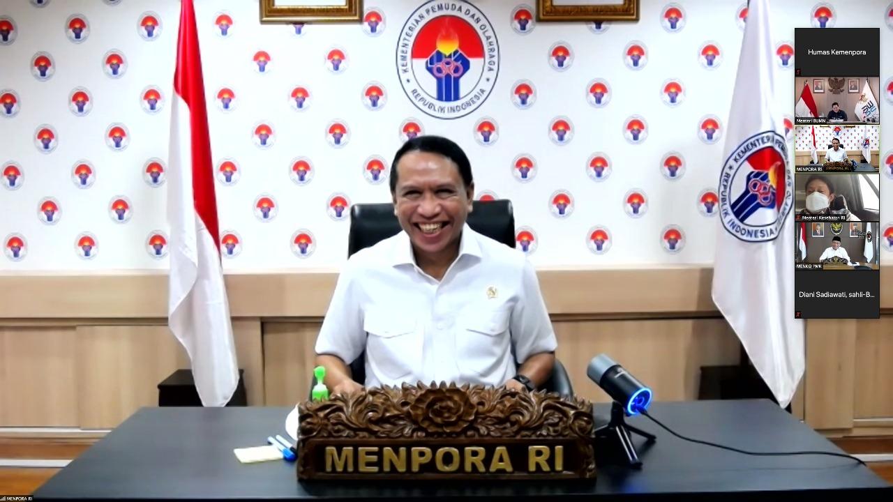 Rakor Tingkat Menteri Terkait Desain Besar Olahraga Nasional, Menpora Amali: Indonesia Target Tembus Peringkat 5 Olimpiade