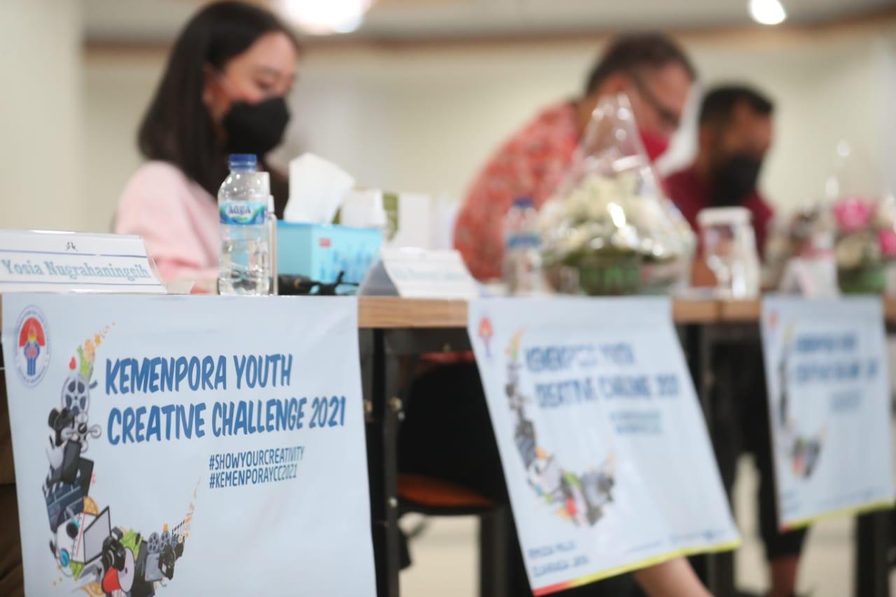 Disambut Positif, Penjurian Kemenpora Youth Creative Challenge Dilakukan secara Transparan