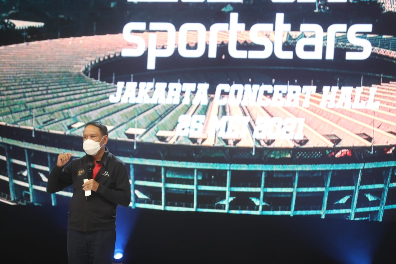 Portal Sportstars.id Dilaunching, Menpora Amali Harap Dapat Berkontribusi Informasikan Kegiatan Olahraga