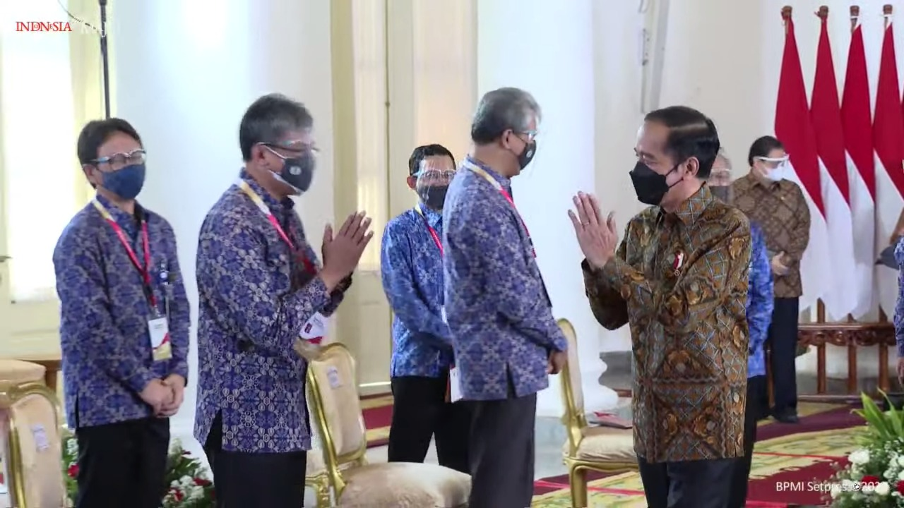 Menpora Amali Ikut Rakor Nasional Pengawasan Intern Pemerintah 2021 yang Dibuka Presiden