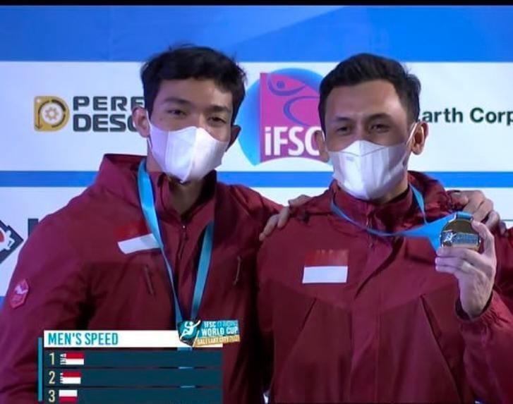 Dua Atlet Panjat Tebing Ukir Rekor Dunia, FPTI Sebut Berkat Dukungan Menpora Amali di Pelatnas