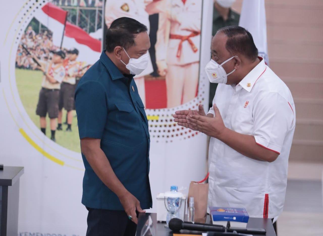 Pimpin Rakor PON XX Papua, Menpora Amali Dengarkan Laporan Persiapan Penyelenggaraan dan Kesehatan