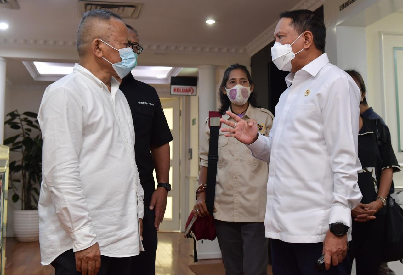 Menpora Amali Terima Kunjungan PWI Pusat, Sampaikan Rencana Kegiatan Jelajah Kebangsaan Wartawan (JKW)  Keliling Nusantara