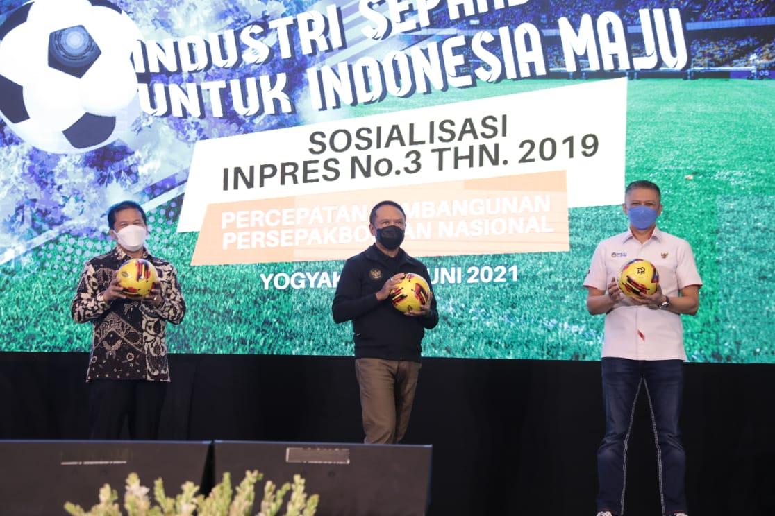 Menpora Amali: Inpres No 3 tahun 2019 Jadi Tulang Punggung Pembinaan Pemain Sepak Bola Usia Muda