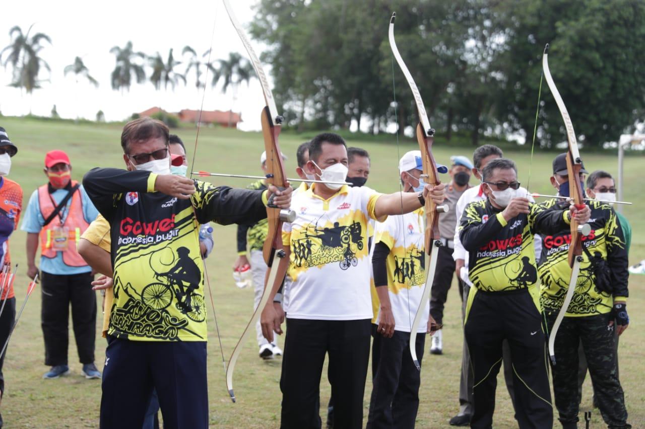 Field Archery Menpora Festival 2021 di Batam Patut Ditiru Provinsi Lain di Indonesia