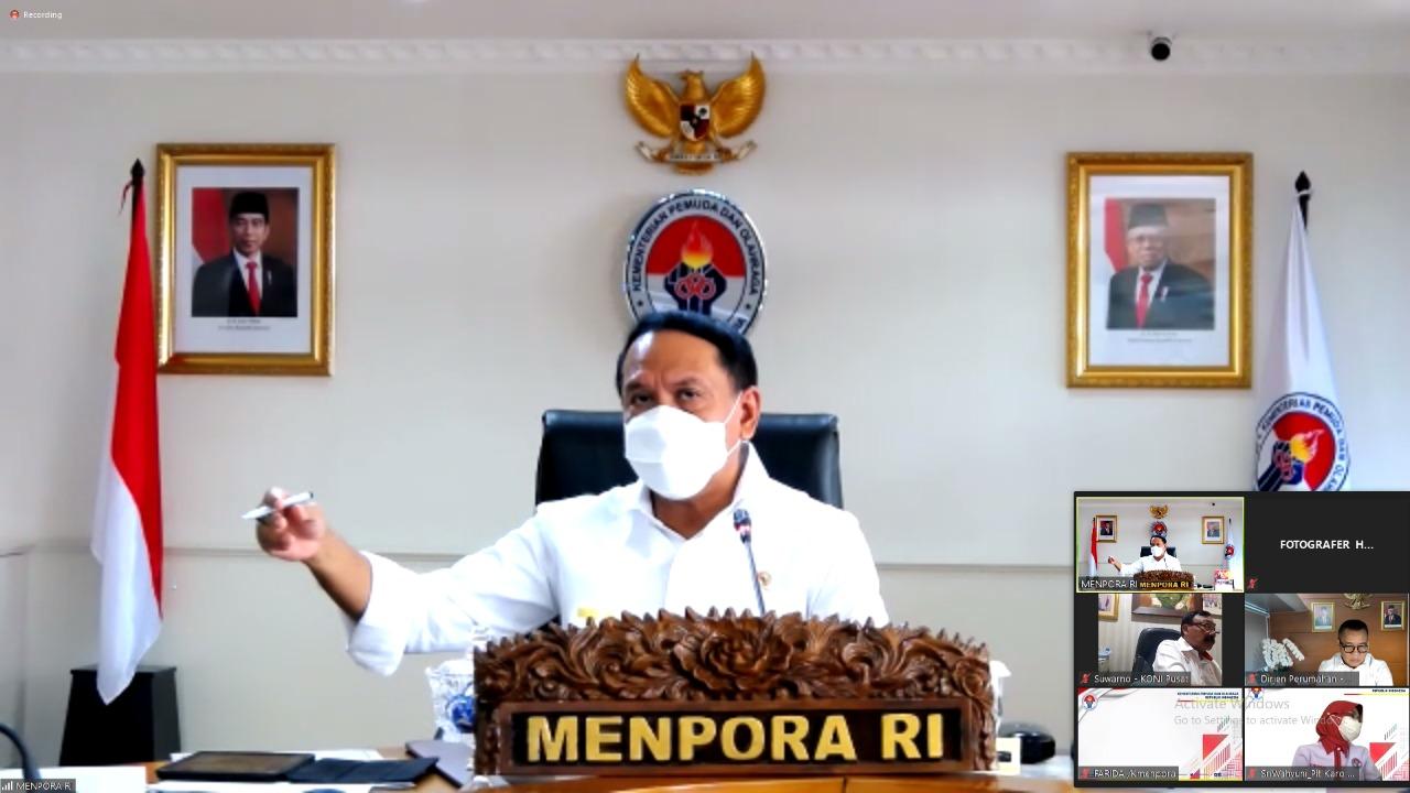 Pimpin Rapat Persiapan Penyelenggaraan PON XX Papua, Menpora Amali Pastikan Semua Berjalan Baik
