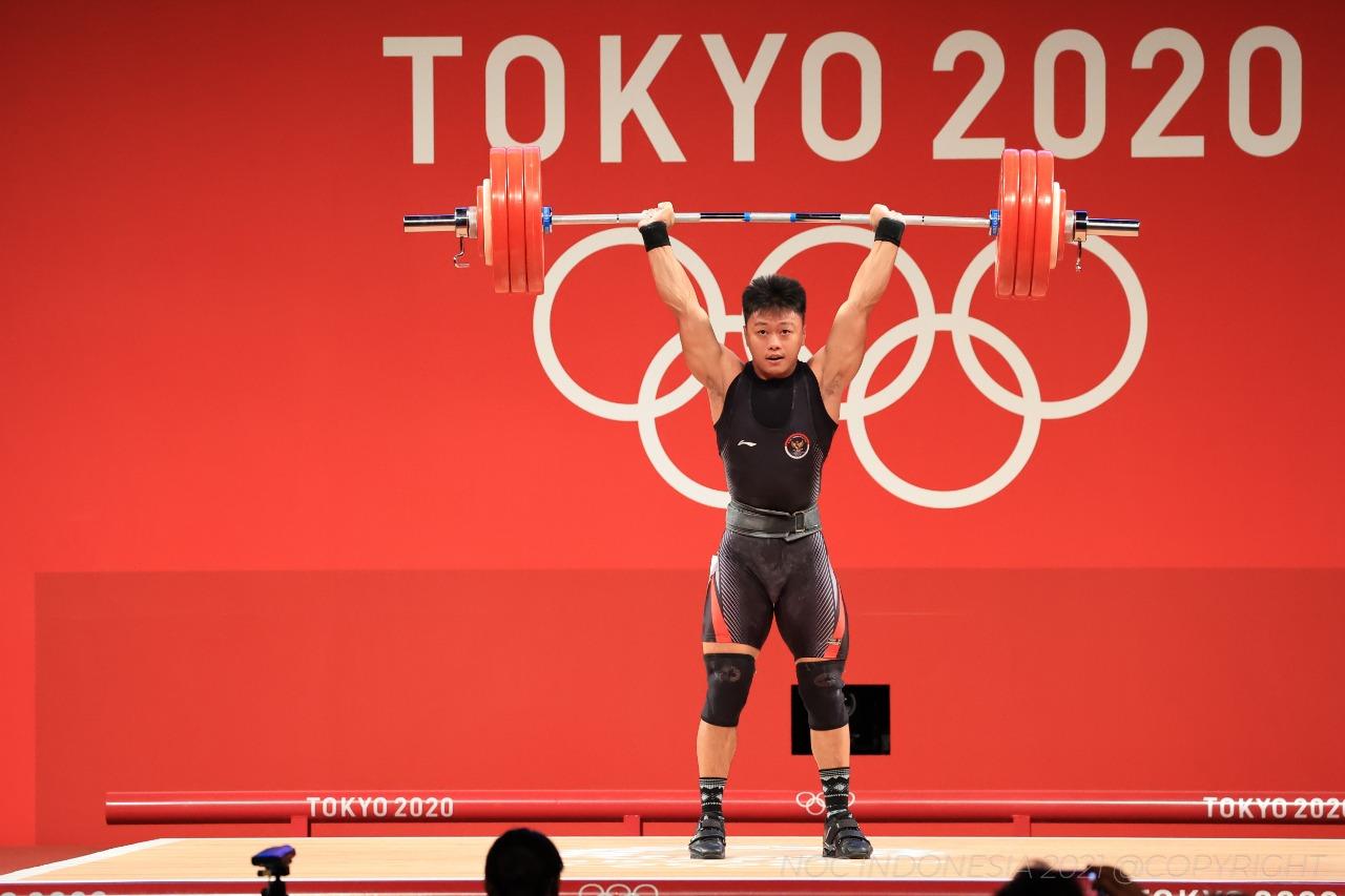 Ucapkan Selamat kepada Rahmat, Menpora Amali Ingin Rahmat Bisa Berprestasi di Olimpiade 2024 Paris
