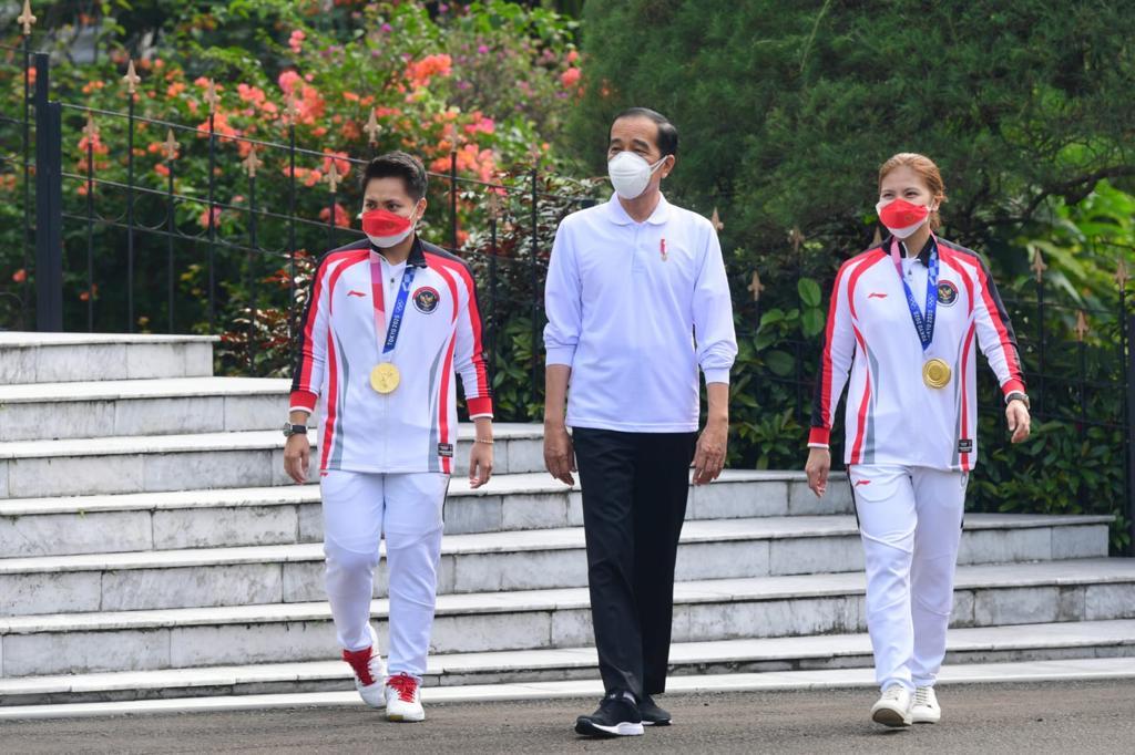 Rincian Bonus yang Diberikan Presiden Jokowi untuk Atlet, Pelatih dan Ofisial di Olimpiade Tokyo 2020, Peraih Medali Emas 5,5 Miliar