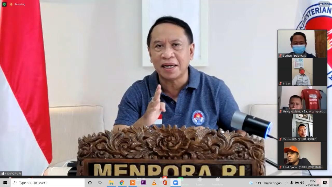 Menpora Amali Optimistis Suporter Patuhi Prokes di Kompetisi Liga 1 dan Liga 2