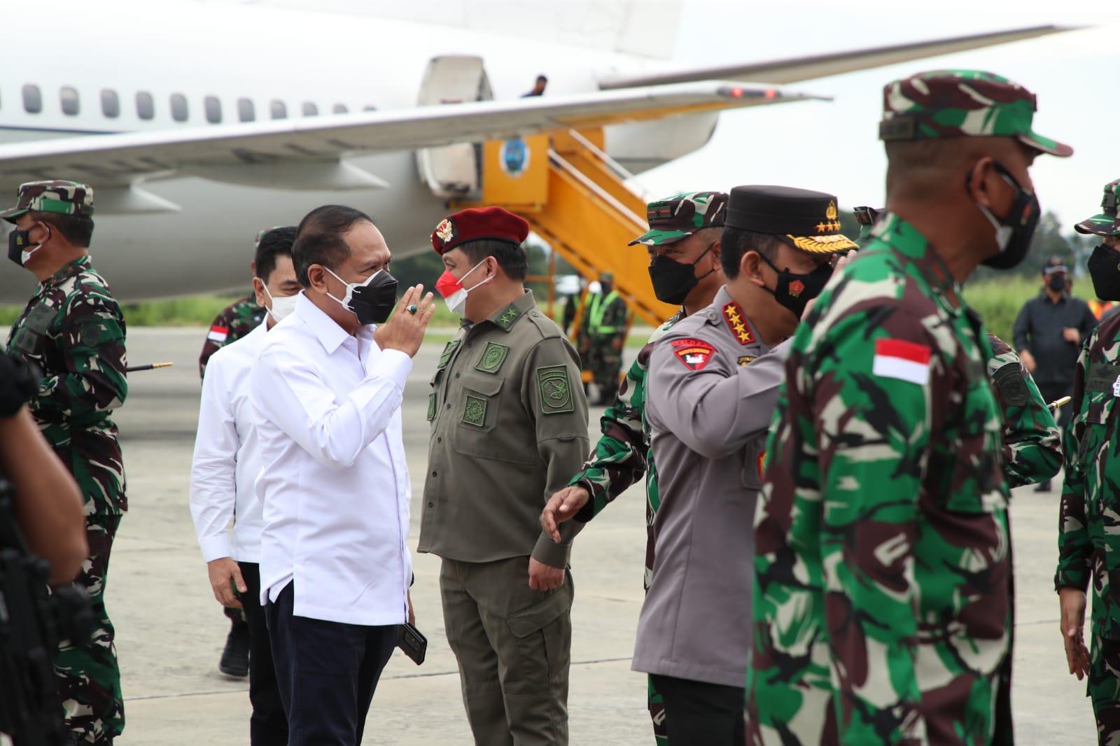 Menpora Amali Melakukan Kunjungan Kerja ke Papua Bersama Panglima TNI dan Kapolri