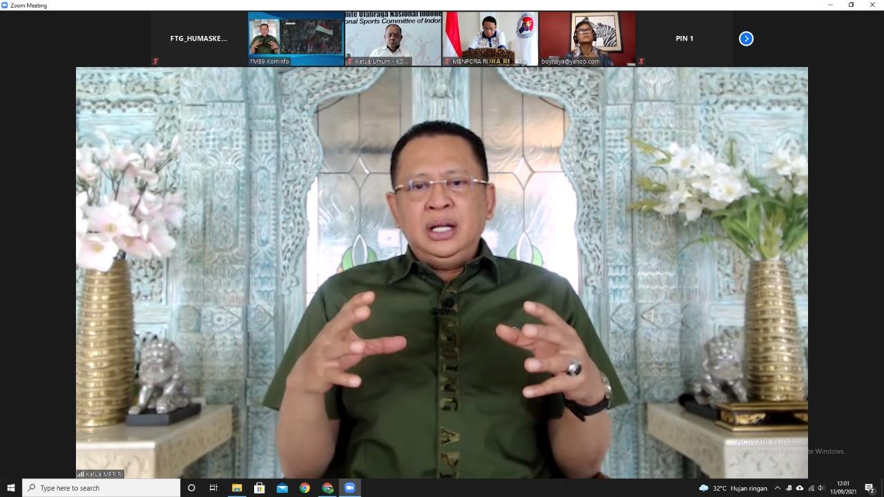 Ketua MPR: Era Menpora Amali, Olahraga Indonesia Meroket Hingga Internasional