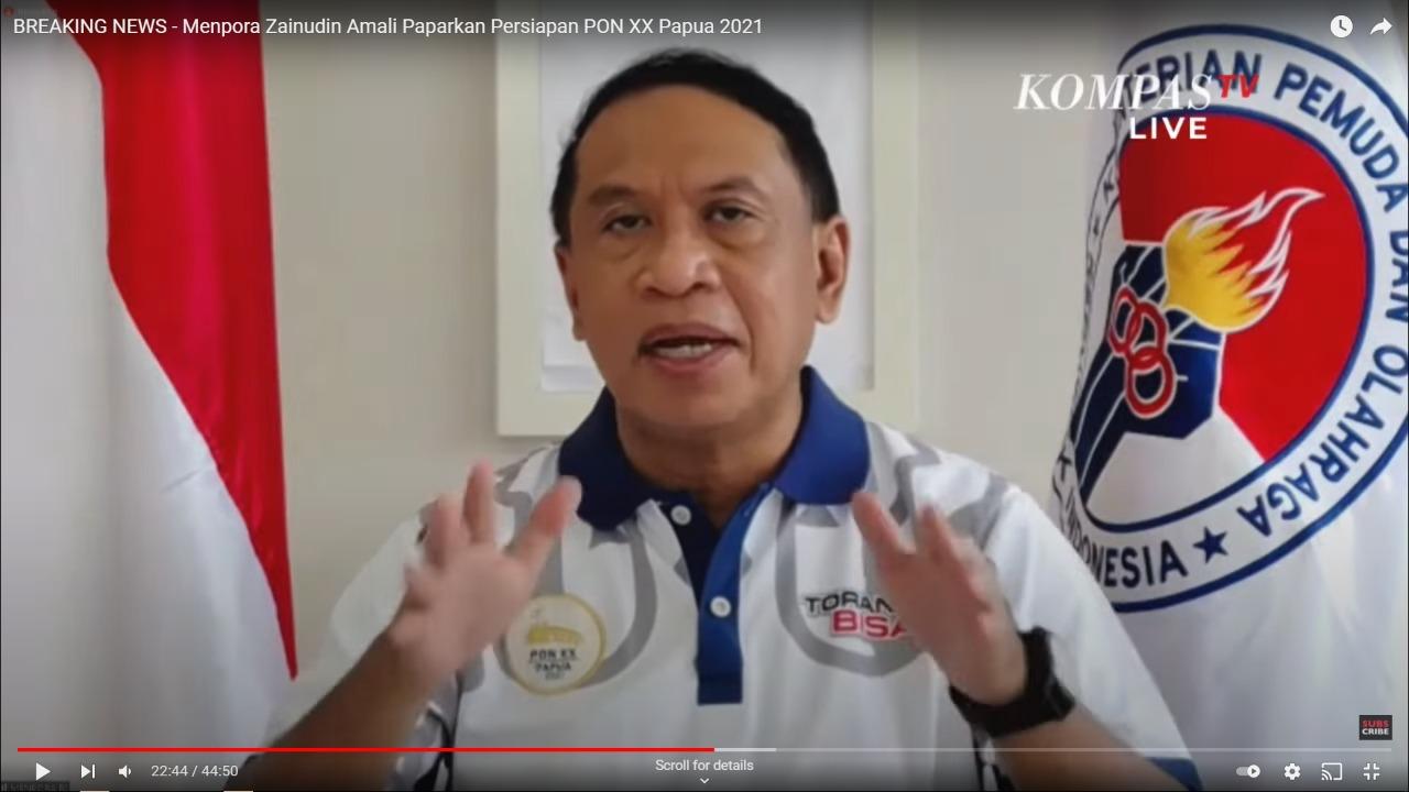 Menpora Amali Akan Berkantor di Papua Selama Pelaksanaan PON XX Berlangsung