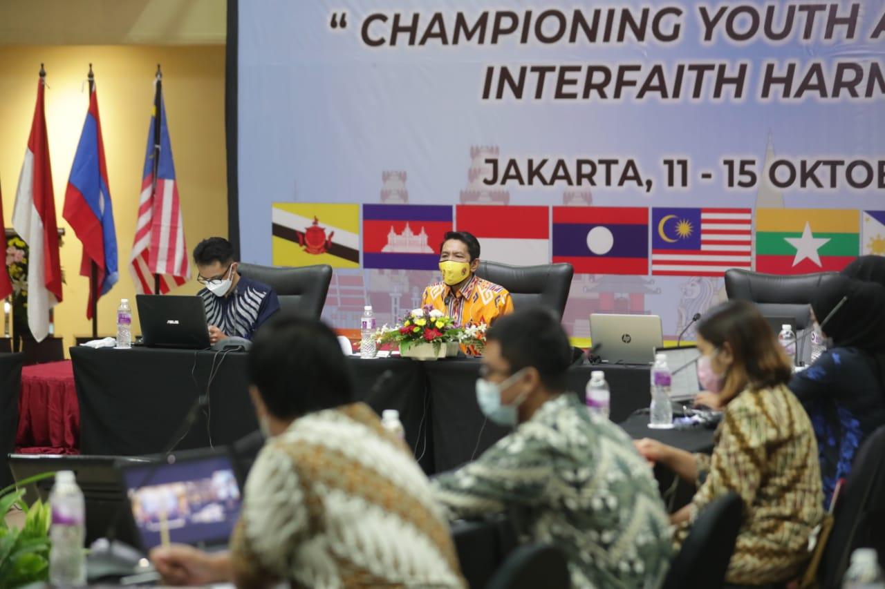 Kemenpora Dorong Pemuda dan Organisasi Kepemudaan ASEAN Perkuat Kerukunan Antar Agama
