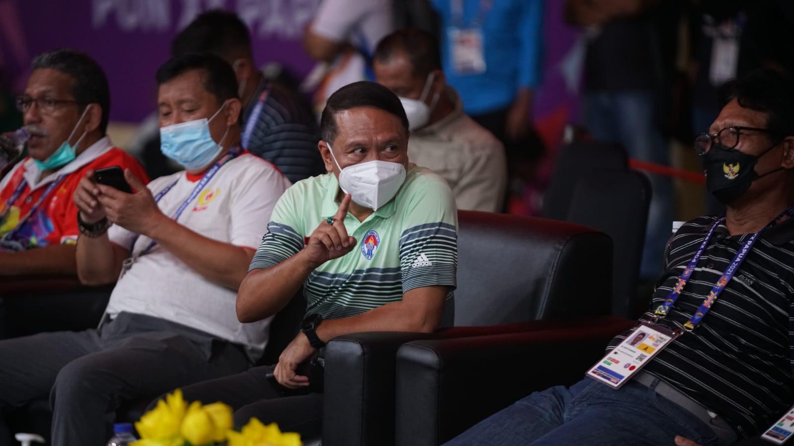 PON XX Papua 2021, Menpora Amali Terkesan di Saat Pandemi Masih Ada Pemecahan Rekor
