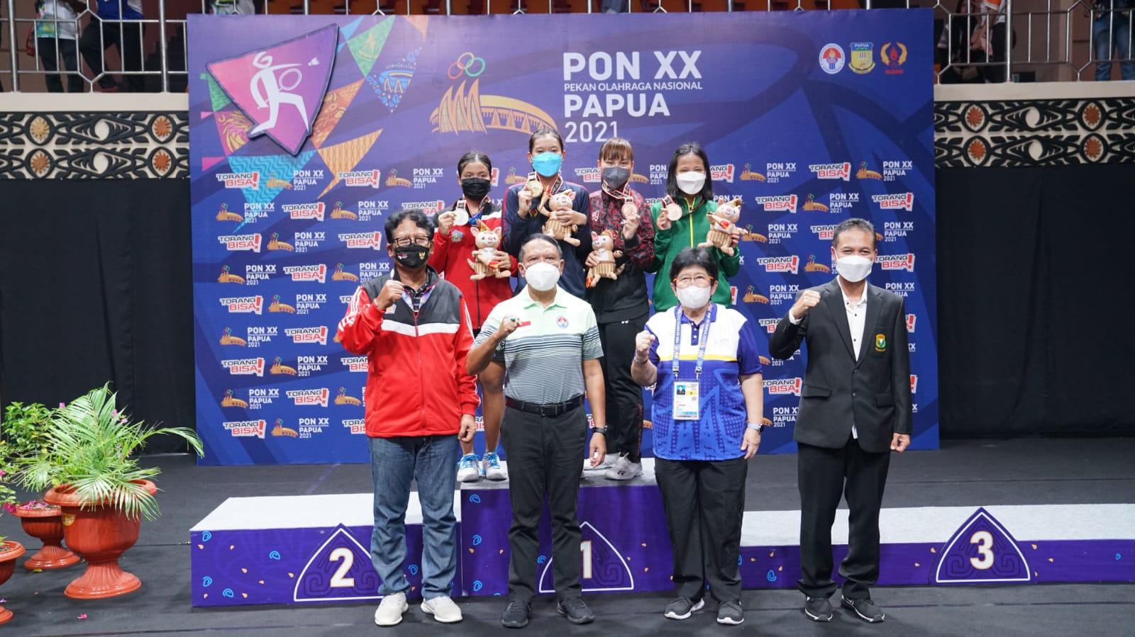 Klasemen PON XX, Jabar Masih Kokoh di Puncak Jelang Acara Penutupan, Bali Geser Jateng di Posisi Kelima