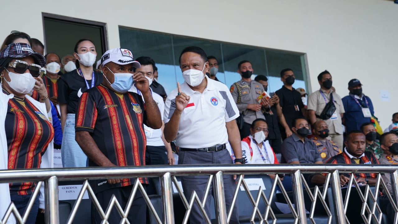 Usai Saksikan Final Papua vs Aceh, Menpora Amali Sebut Banyak Talenta Sepakbola yang Bisa Didorong ke Timnas