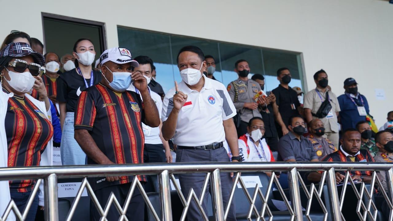 Menpora Amali: PON XX Papua Akan Ditutup Wakil Presiden