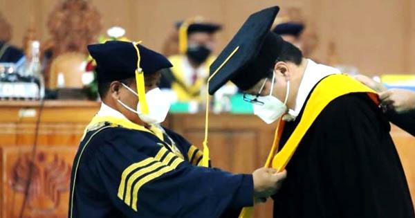 Menpora RI Apresiasi Airlangga Hartarto Dapat Gelar Doktor Honoris Causa Pendidikan Olahraga