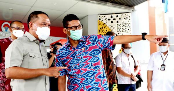 Menpora RI - Menparekraf Kembangkan Sport Tourism di Indonesia