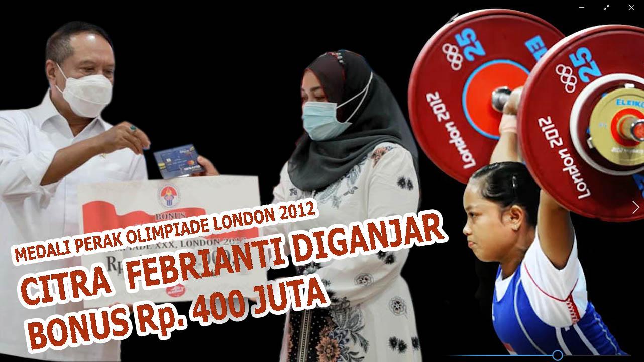 Raih Medali Perak Olimpiade 2012 London oleh IOC, Menpora RI Beri Bonus Citra Febrianti Rp 400 Juta